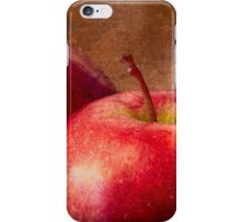 Three Red Apples iPhone Case/Skin