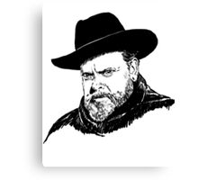 Mr. Orson Welles Canvas Print