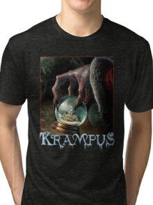 Krampus christmas devil Tri-blend T-Shirt