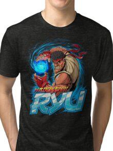 Ryu – Hadoken! Tri-blend T-Shirt