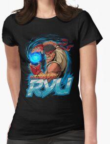 Ryu – Hadoken! Womens Fitted T-Shirt