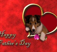 Father's Day Sheltie by jkartlife