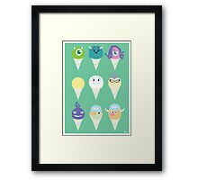 We all scream for ice cre- snow cones! Framed Print