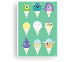 We all scream for ice cre- snow cones! Canvas Print