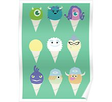 We all scream for ice cre- snow cones! Poster