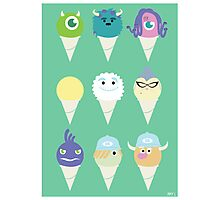 We all scream for ice cre- snow cones! Photographic Print