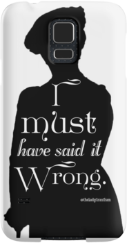 I Must Have Said It Wrong by Dowager Countess