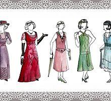 Downton Inspired Fashion by Elizabeth Rodriguez