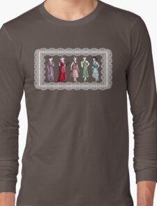 Downton Inspired Fashion Long Sleeve T-Shirt
