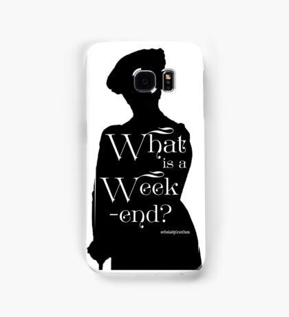 What is a Week-end? Samsung Galaxy Case/Skin