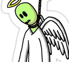 Hung From Heaven Sticker