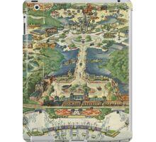 Vintage National Geographic Disneyland Map iPad Case/Skin