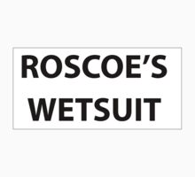 Roscoe's wetsuit billboard by Chasingbart