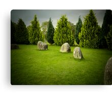 Stone Circle - 2 Canvas Print