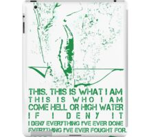 Arrow T-shirt iPad Case/Skin