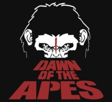 Dawn of the Apes One Piece - Short Sleeve