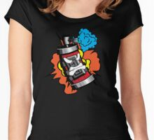 Graffiti Dynamite Women's Fitted Scoop T-Shirt