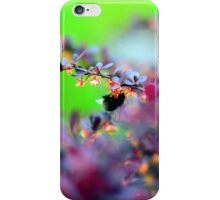 Switzerland bumble iPhone Case/Skin