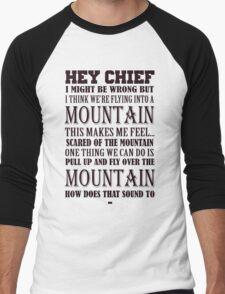 Hey Chief - Cabin Pressure Men's Baseball ¾ T-Shirt
