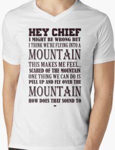 Hey Chief - Cabin Pressure Mens V-Neck T-Shirt