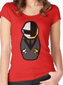 Daft Matryoshka Women's Fitted Scoop T-Shirt
