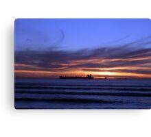 Cape Town Sun Set Canvas Print