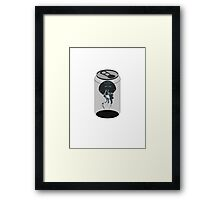 Canned Jelly Framed Print
