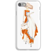 Paris Summer Dress Fashion Illustration iPhone Case/Skin