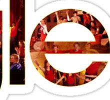 Glee logo performances Sticker