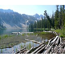 Seafoam Lake Photographic Print