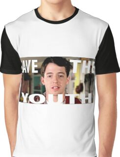 Save The Youth (Bueller) Shirt Graphic T-Shirt