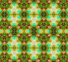 Green Victorian Design by Mariaan Maritz Krog Photos & Digital Art