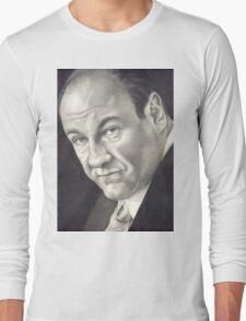 James Gandolfini Long Sleeve T-Shirt