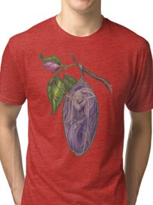 Chrysalis - a new winged merbunny Tri-blend T-Shirt
