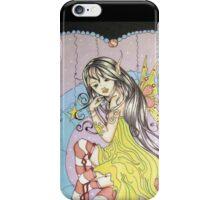 Candy Cane Pixie - Fantasy Art iPhone Case/Skin