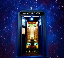 This Phone Booth It's bigger on the inside by ThreeSecond DesignandArt