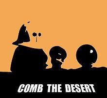 Spaceballs: Comb the Desert! by kristaperyer
