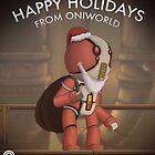Happy Holidays from Oni World by Lloyd Harvey