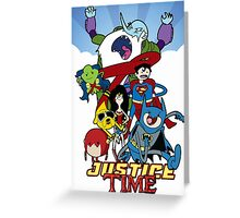 Justice Time Greeting Card