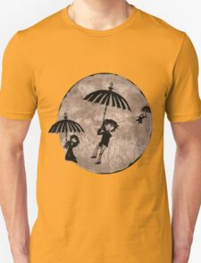 Baudelaire Umbrellas Unisex T-Shirt