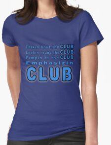 Da Club Womens Fitted T-Shirt