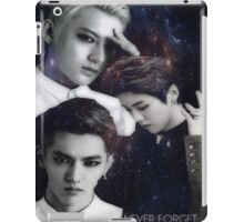 Never Forget. (Kris, Luhan, Tao) iPad Case/Skin