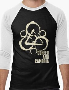 coheed and cambria color before the sun Tour 2016 RP05 Men's Baseball ¾ T-Shirt