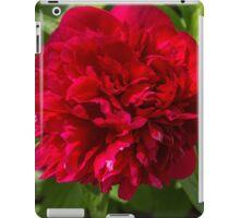 Peony Red iPad Case/Skin