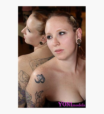 Pearl Derriere in All Her Glory on YONImodels Photographic Print