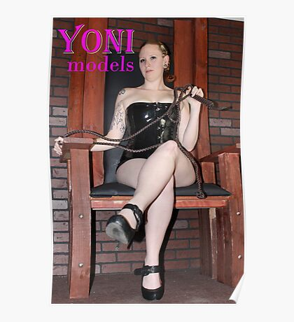 Pearl Derriere is in Control on YONImodels Poster