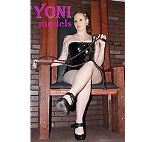 Pearl Derriere is in Control on YONImodels Photographic Print