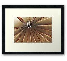 Native American skylight. Framed Print