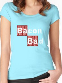 Bacon Bad Women's Fitted Scoop T-Shirt
