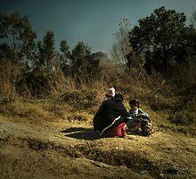 Village scape by Zohaib Ali
